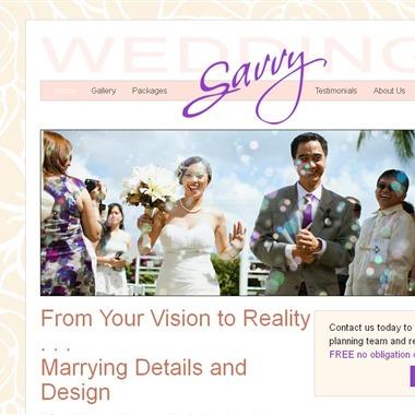 Savvy Weddings wedding vendor preview