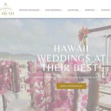 Weddings of Hawaii wedding vendor preview