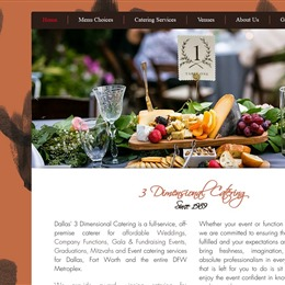 Photo of 3 Dimensional Catering & Design LLC. Test, a wedding Caterers in Richardson