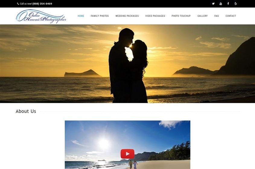 Oahu Hawaii Photographer wedding vendor photo