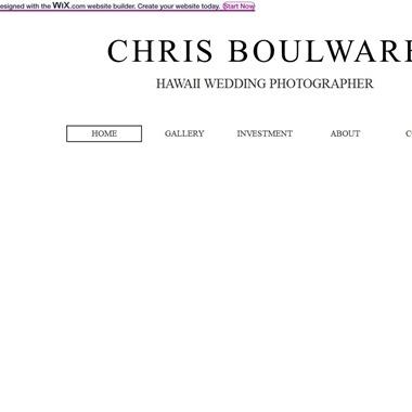 Chris Boulware wedding vendor preview