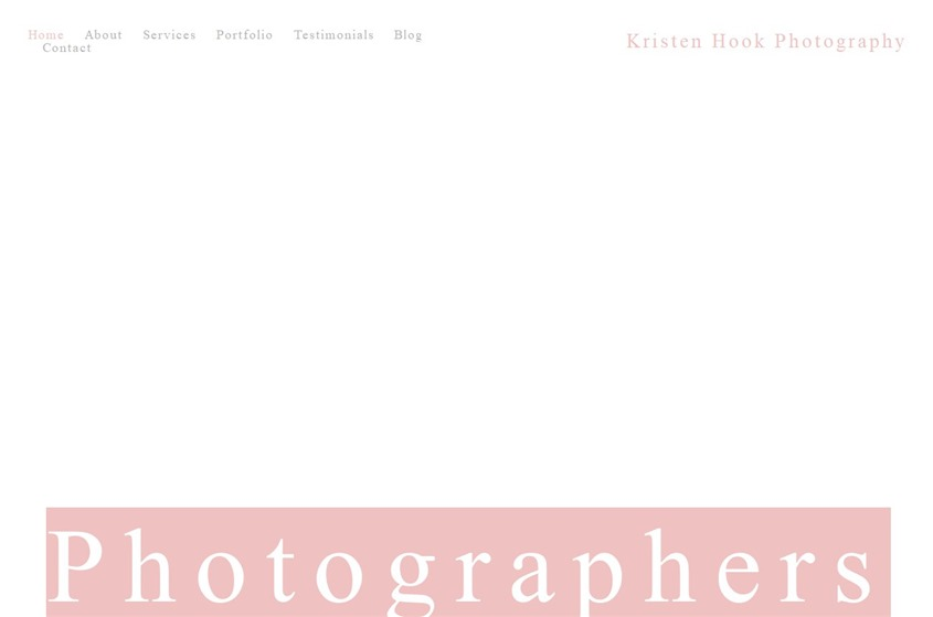 Kristen Hook Photography wedding vendor photo
