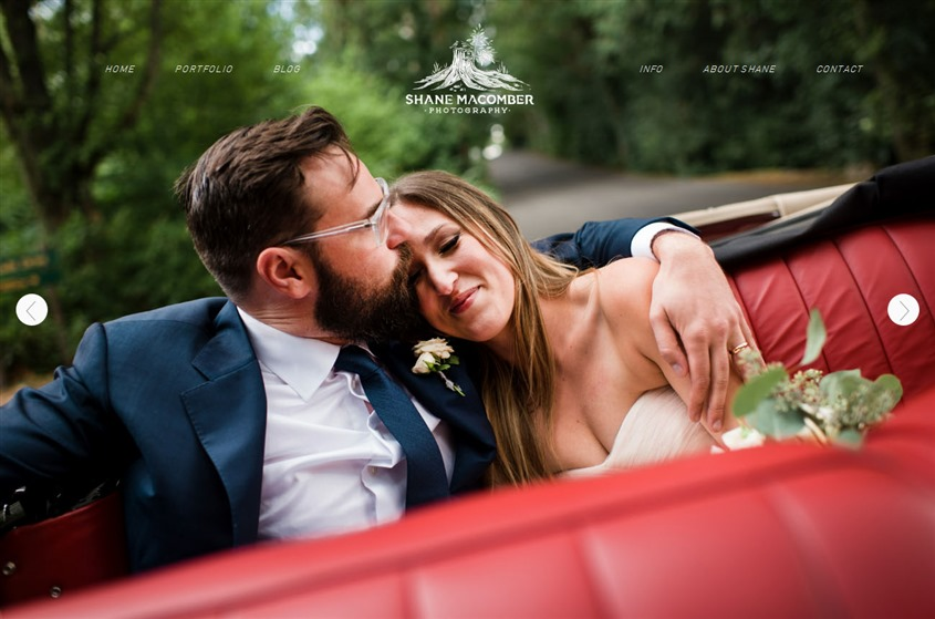 Shane Macomber Photography wedding vendor photo