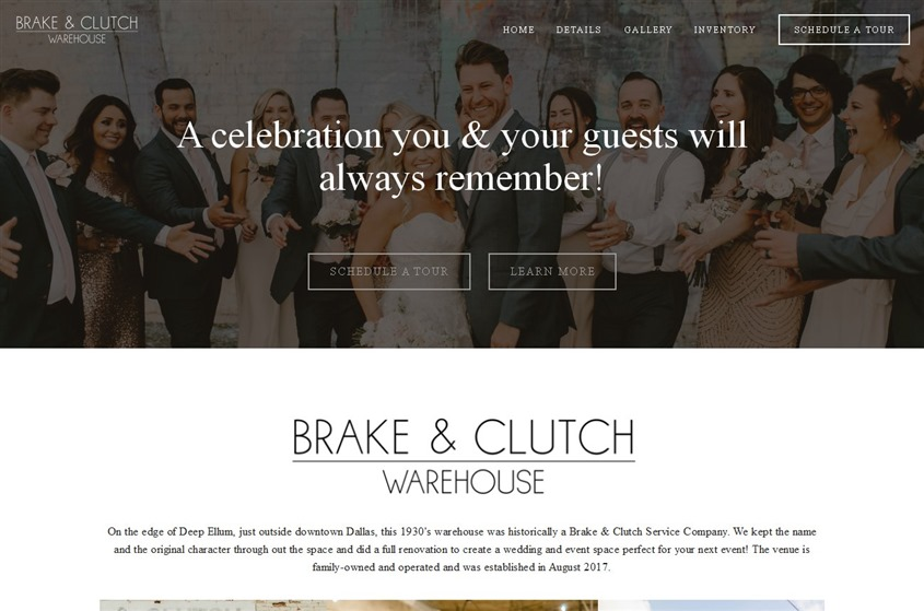 Brake & Clutch Event Space wedding vendor photo