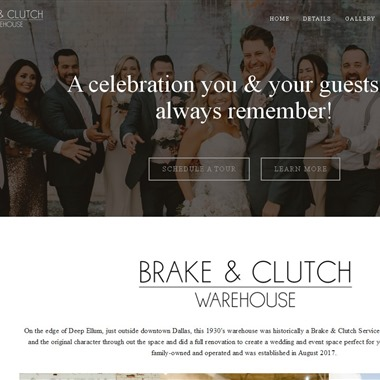 Brake & Clutch Event Space wedding vendor preview