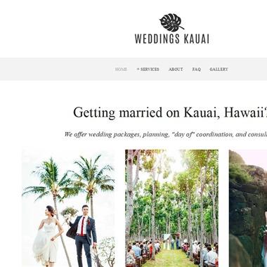Weddings Kauai wedding vendor preview