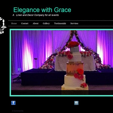Elegance With Grace wedding vendor preview