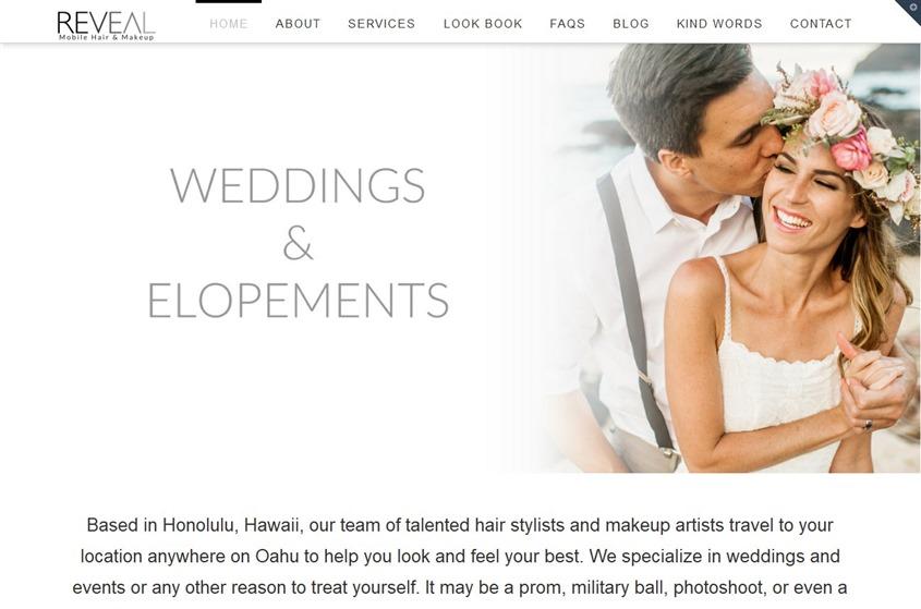 Reveal Hair & Makeup wedding vendor photo