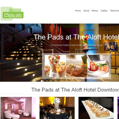 Pads At Aloft wedding vendor preview