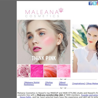 Maleana Cosmetics wedding vendor preview