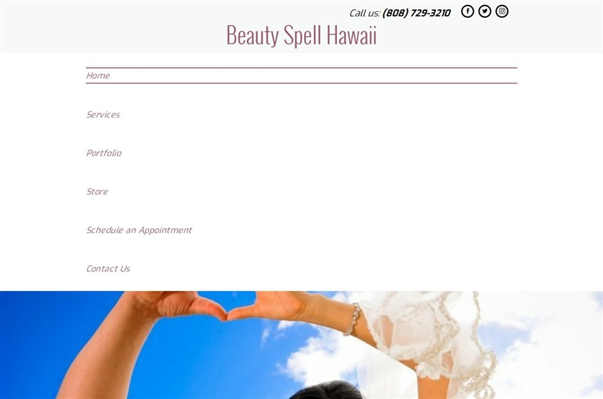 Beauty Spell Hawaii wedding vendor photo