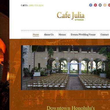 Cafe Julia wedding vendor preview