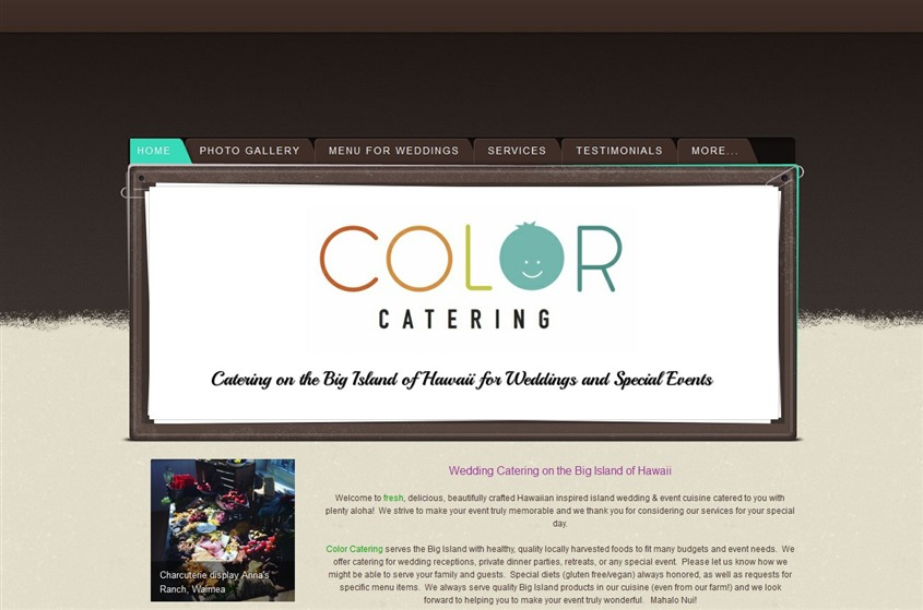 Color Catering wedding vendor photo