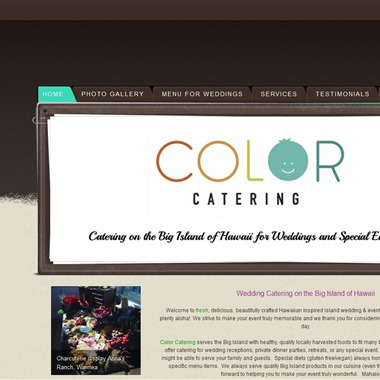 Color Catering wedding vendor preview