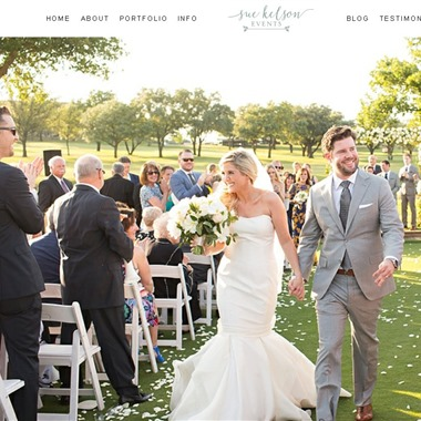 Sue Kelson Events wedding vendor preview