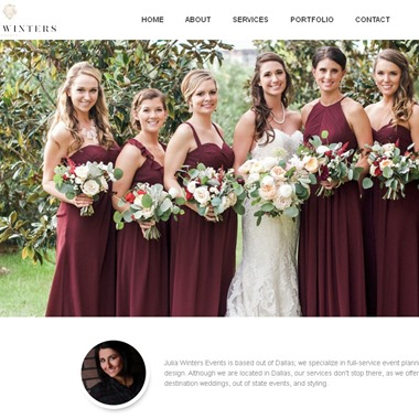 Julia Winters wedding vendor preview