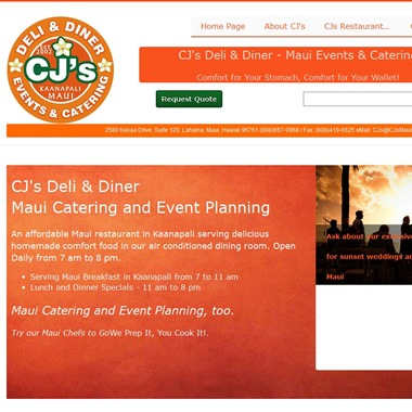 Maui Catering & Event Planning wedding vendor preview