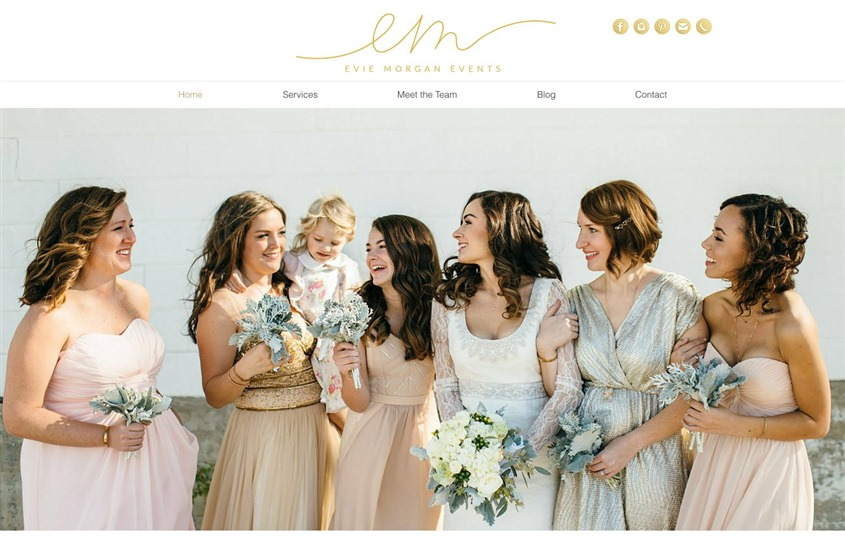 Evie Morgan Events wedding vendor photo