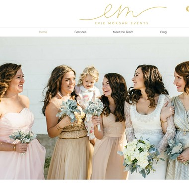 Evie Morgan Events wedding vendor preview