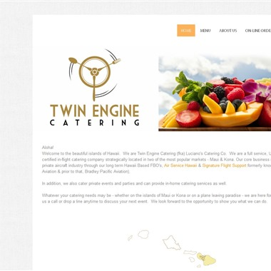 Twin Engine Catering wedding vendor preview