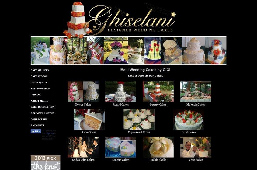 Ghiselani Designer Wedding Cakes wedding vendor photo