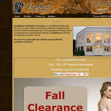 Casablanca Bridal & Formals wedding vendor preview