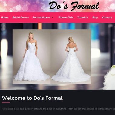 Do's Formal wedding vendor preview