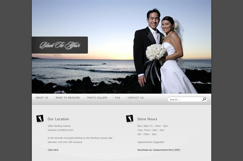 Black Tie Affair  wedding vendor photo