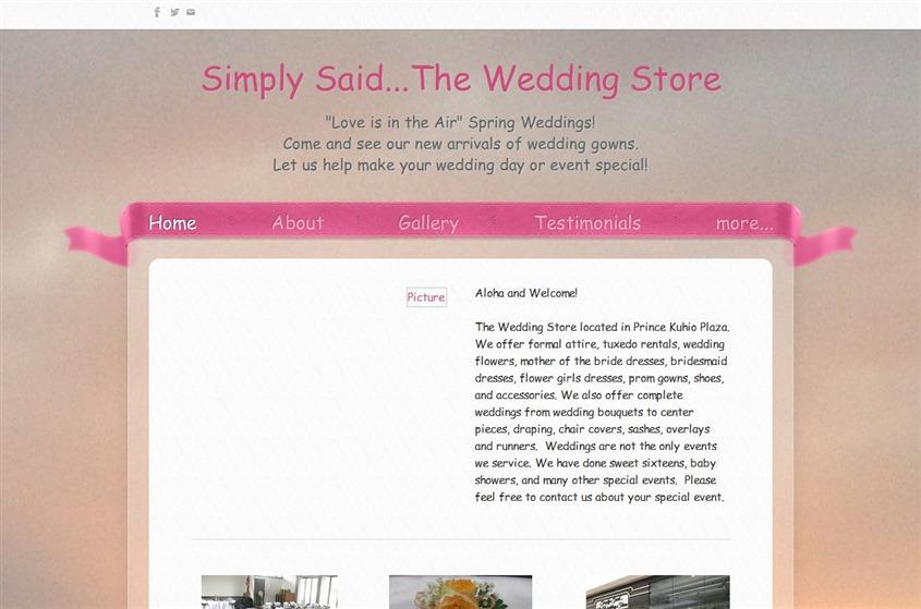 Simply Said wedding vendor photo