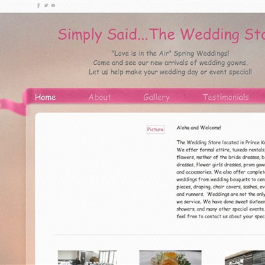 Simply Said wedding vendor preview