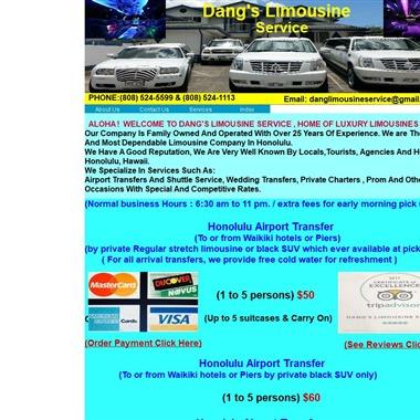 Dang's Limousine Service wedding vendor preview