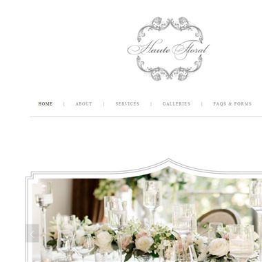 Haute Floral wedding vendor preview