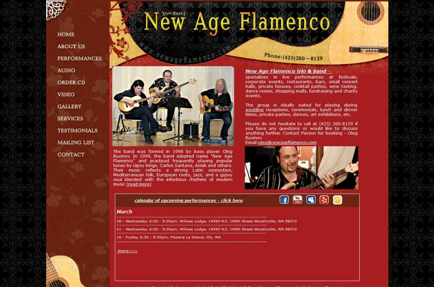 Acoustic Guitar Trio - New Age Flamenco wedding vendor photo