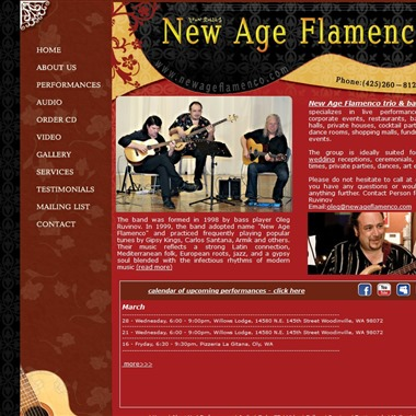 Acoustic Guitar Trio - New Age Flamenco wedding vendor preview