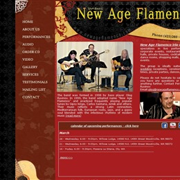 Acoustic Guitar Trio - New Age Flamenco photo