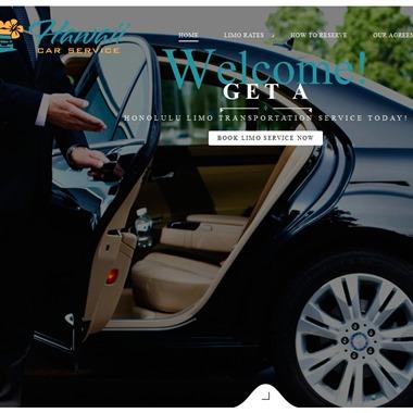 Hawaii Car Service wedding vendor preview