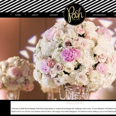 Posh Floral Designs wedding vendor preview