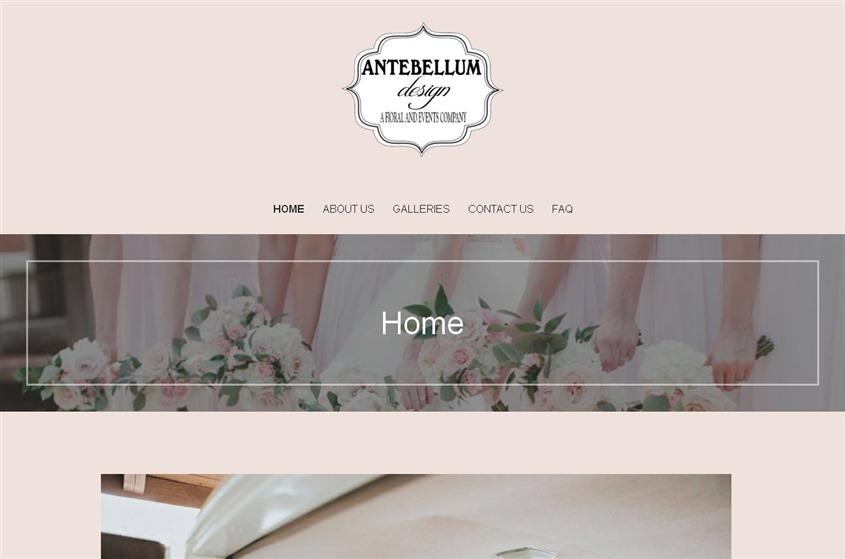 Antebellum Design wedding vendor photo