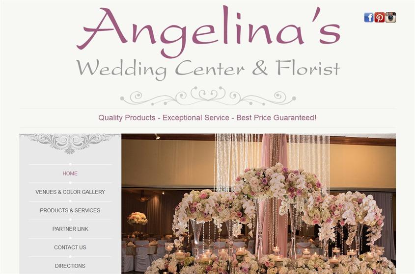 Angelina's Wedding Center & Florist wedding vendor photo