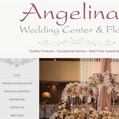 Angelina's Wedding Center & Florist wedding vendor preview