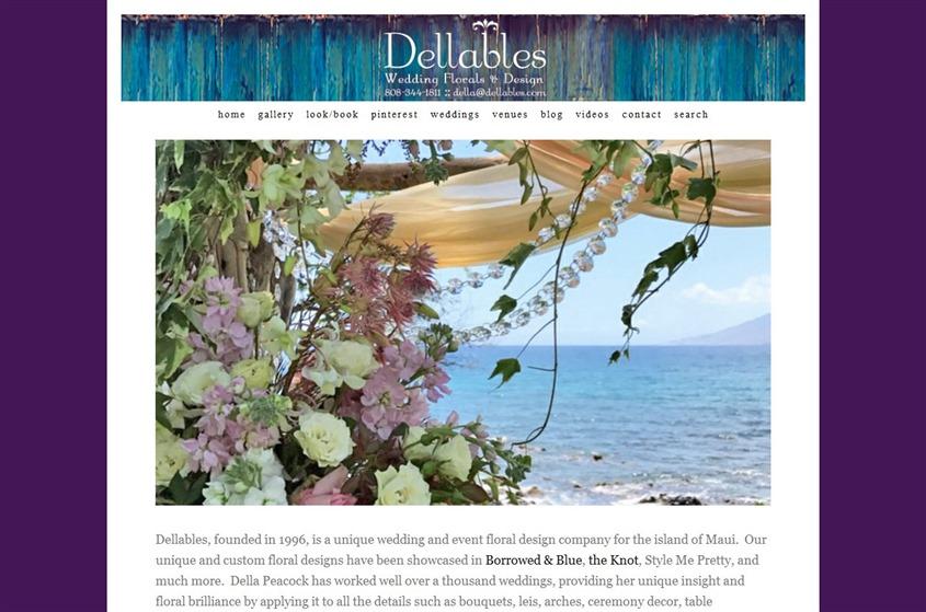 Dellables wedding vendor photo