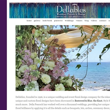 Dellables wedding vendor preview