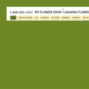 My Flower Shop wedding vendor preview