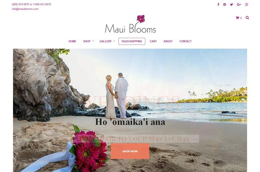 Maui Blooms wedding vendor photo