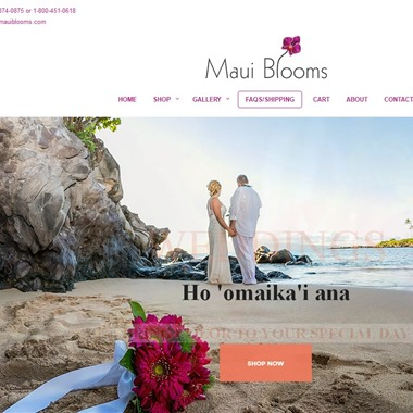 Maui Blooms wedding vendor preview