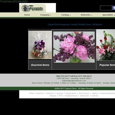 Fujikami Florist wedding vendor preview