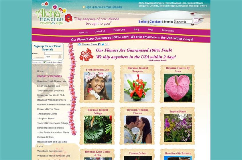 Aloha Hawaiian Flowers wedding vendor photo