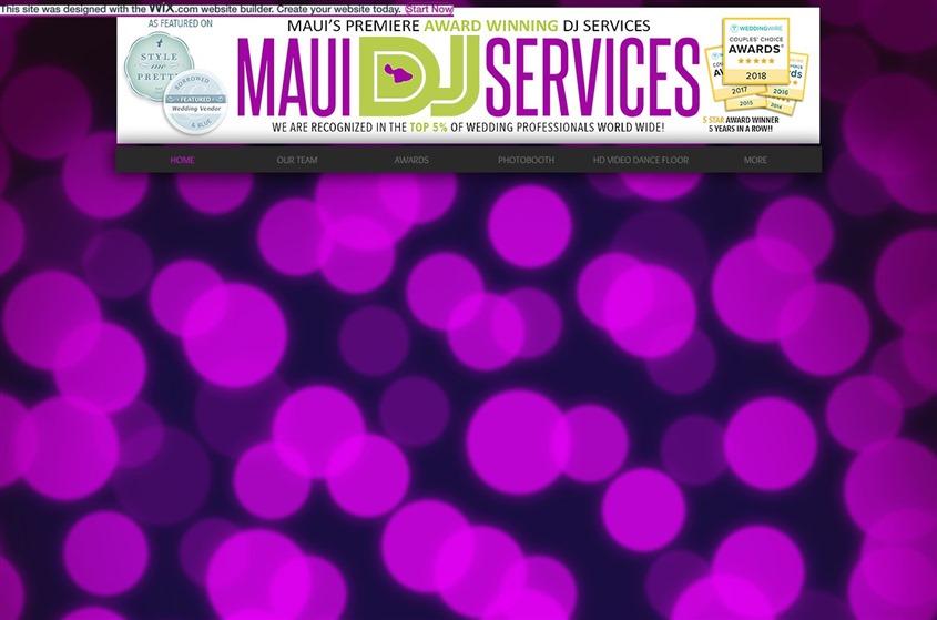 Maui DJ Services wedding vendor photo