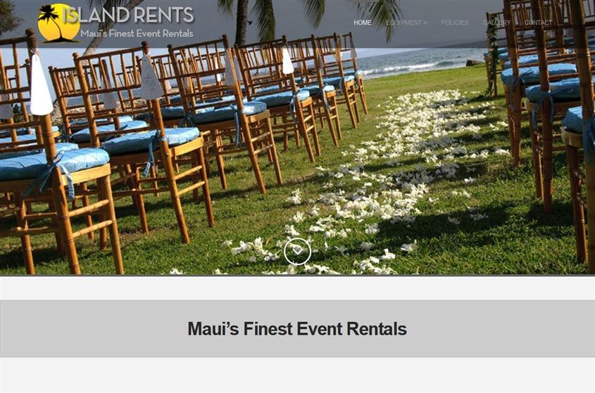 Island Rents wedding vendor photo