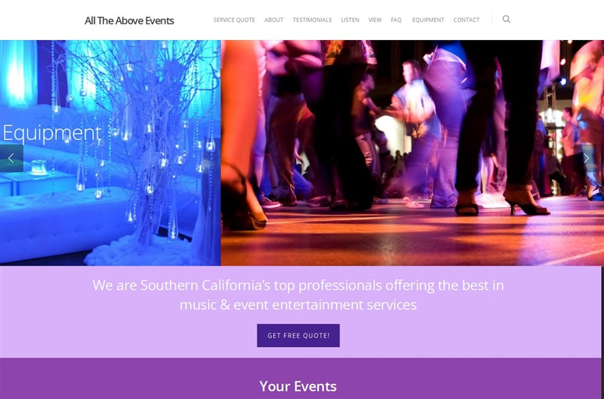 All The Above Events wedding vendor photo